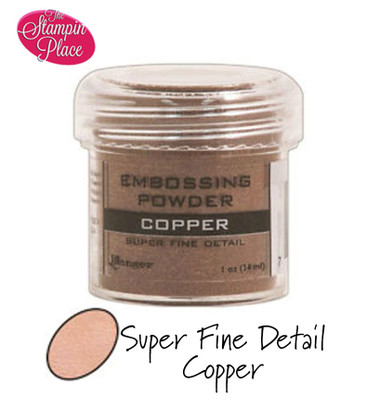 Embossing Powders: Super Fine Detail: Copper