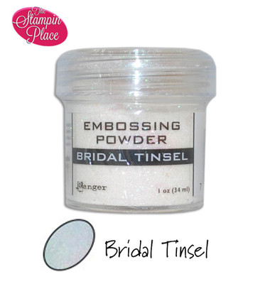 Embossing Powders: Bridal Tinsel