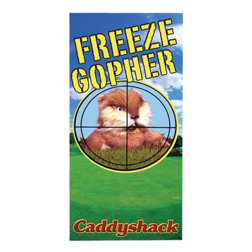 Caddyshack - Freeze Gopher Beach / Bath Towel