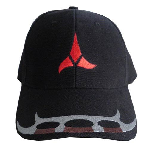 Star Trek Klingon Adjustable Black Hat HAT004