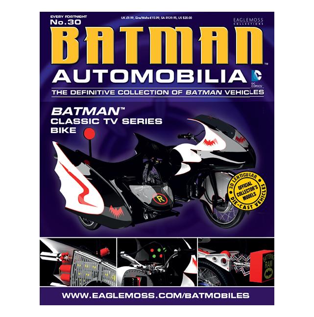 Batman 1966 Classic TV Series Batcycle
