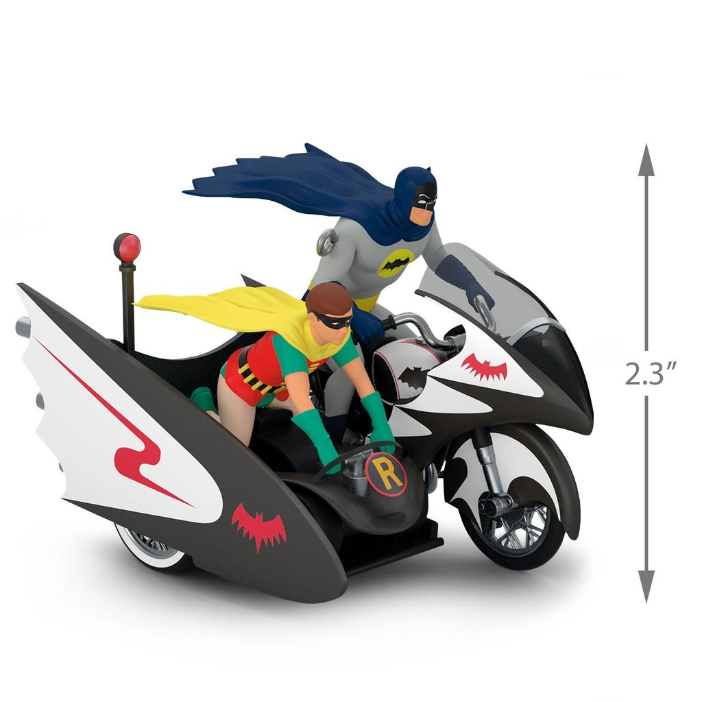 Batman™ Classic TV Series Batcycle™  Hallmark Ornament QXI03056