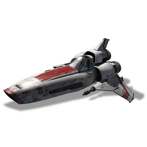 battlestar galactica viper MKII prefinished moebius models moe2912