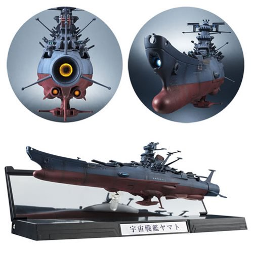 Space Battleship Yamato Kikan Taizen  1:2000 Scale Finished Display