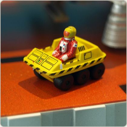 Space 1999 Moon buggy