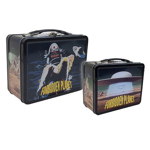 forbidden planet lunch box