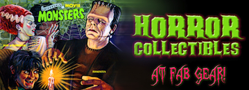 horror monster collectibles toys model kits action figures
