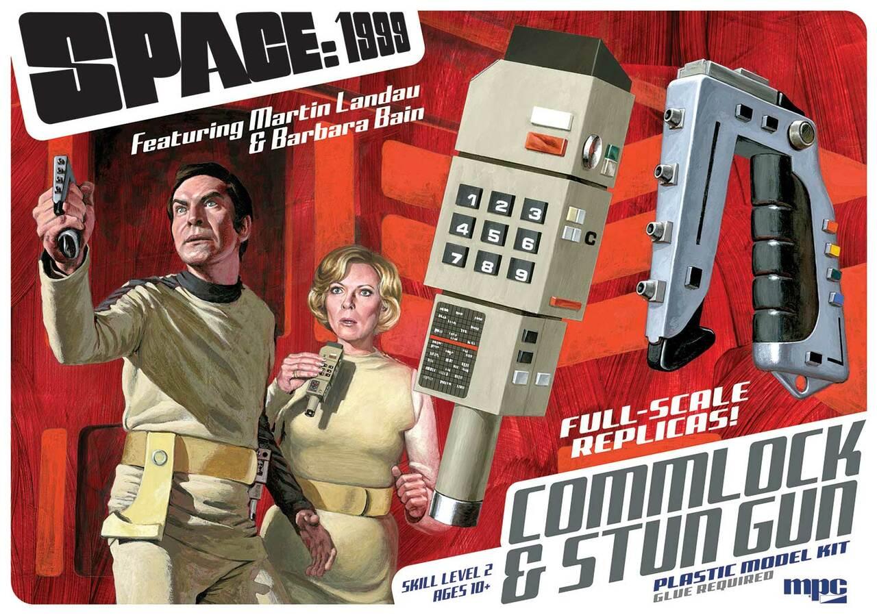 mpc941 Space 1999 - Commlock & Stun Gun Model kit