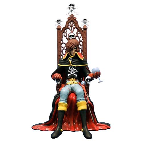 Captain Harlock Anime Figure Statue