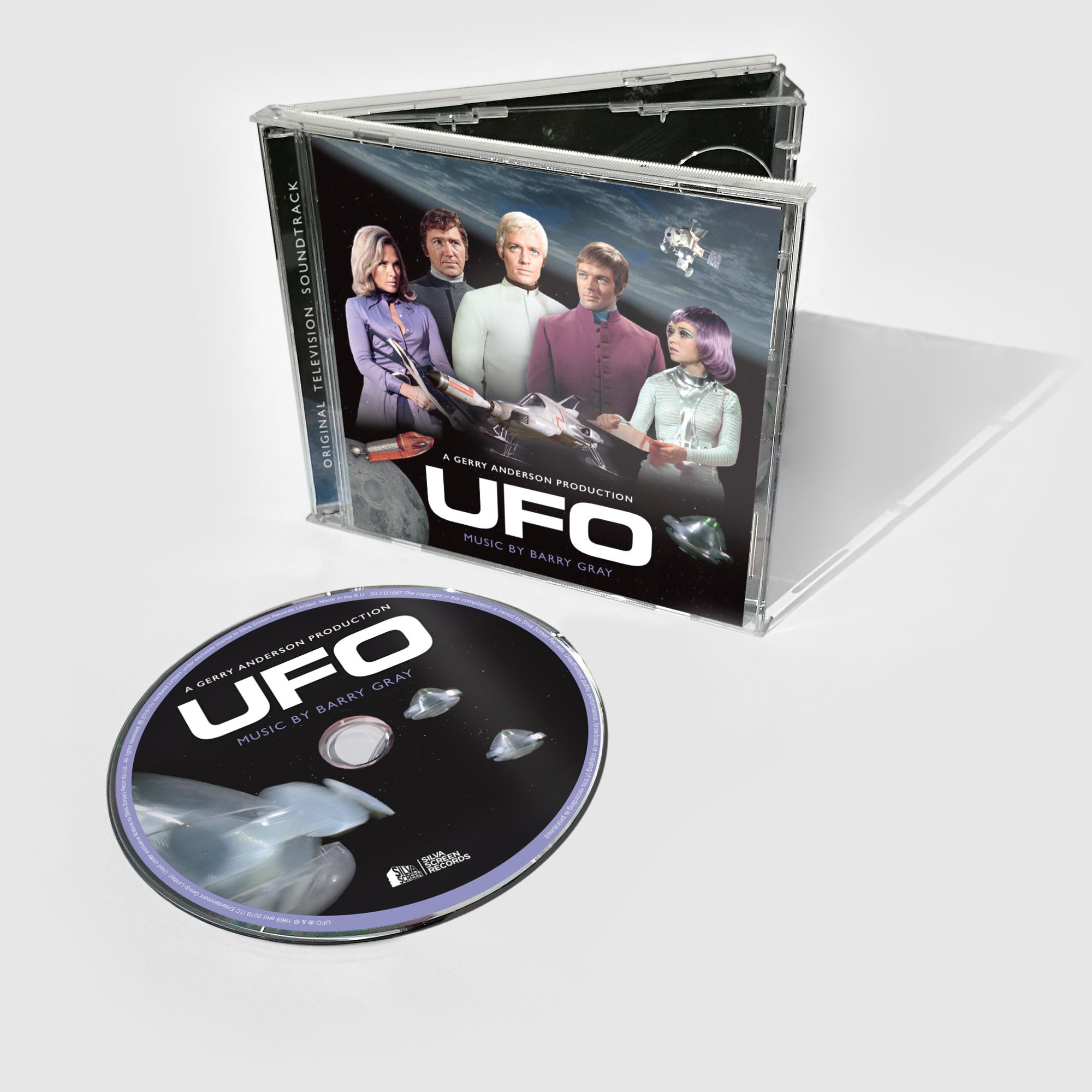 UFO: Original TV Soundtrack (CD) - Barry Gray