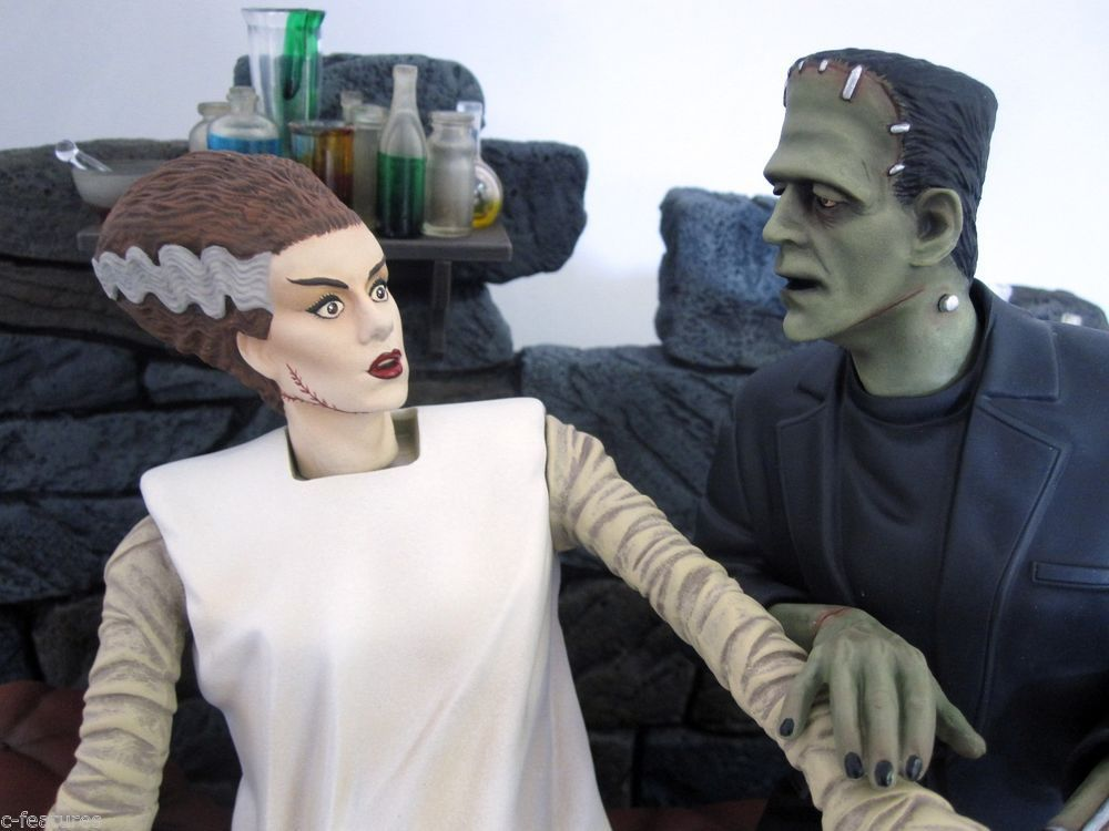 Bride of Frankenstein Model Kit by Moebius Models