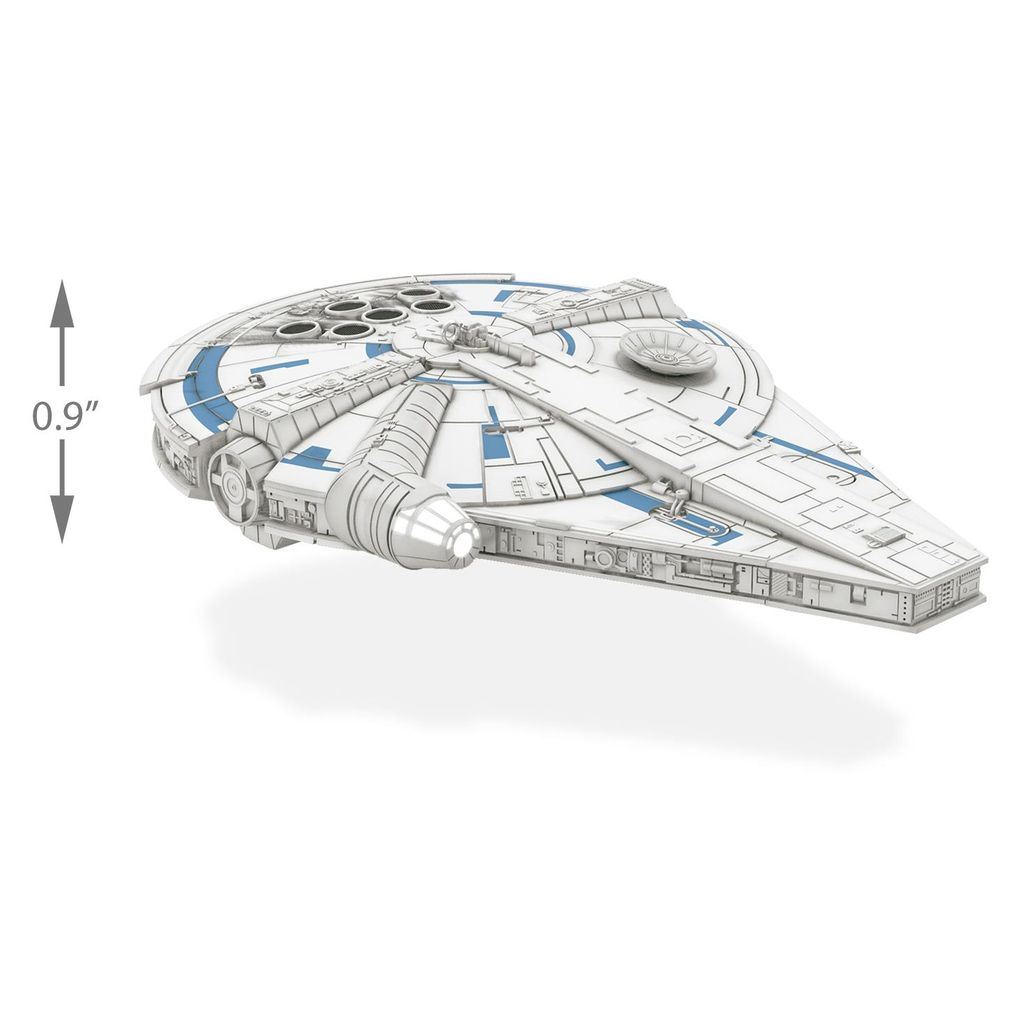 Solo: A Star Wars Story™ Millennium Falcon™ Hallmark Ornament With Lights QXI0333 763795404537