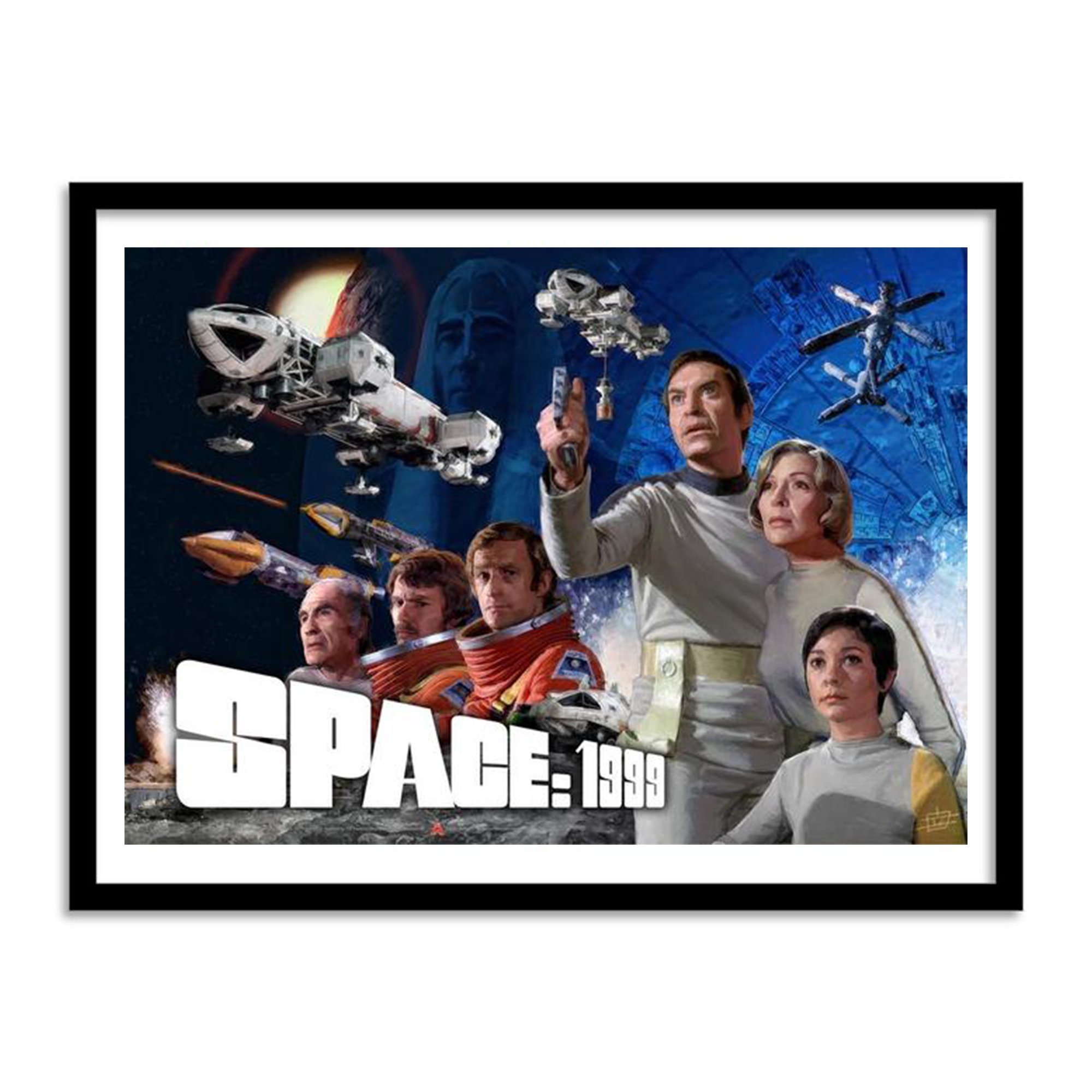 OFFICIAL SPACE 1999 POSTER: SEASON 1
