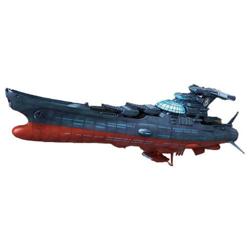 Star Blazers 2202 Wave Motion Experimental Ship Model Kit Bandai