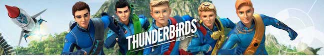 Thunderbirds are go toys and collectibles