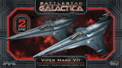 Battlestar Galactica 1/72 Scale Viper MKVII 2-Pack Model Kit