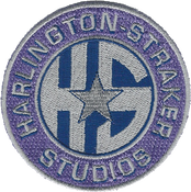 UFO Harlington Straker Studios Patch
