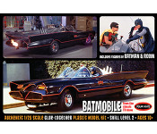 1966 Batman - Batmobile with Batman and Robin Figures