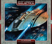Battlestar Galactica Original Cylon Raider PreFinished Display
