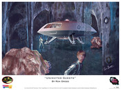Lost in Space - J2 Uninvited Guests print by Ron Gross