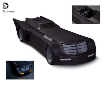 Batman: The Animated Series Batmobile Vehicle with Lights