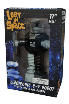 Lost In Space B9 Robot Antimatter Electronic Action Figure B/W