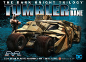 Batmobile - Dark Knight Tumbler with Bane moebius