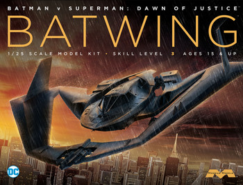 Batman vs. Superman - Batwing model kit 18 inch wing span