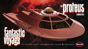 Fantastic Voyage Proteus kit from Moebius Models