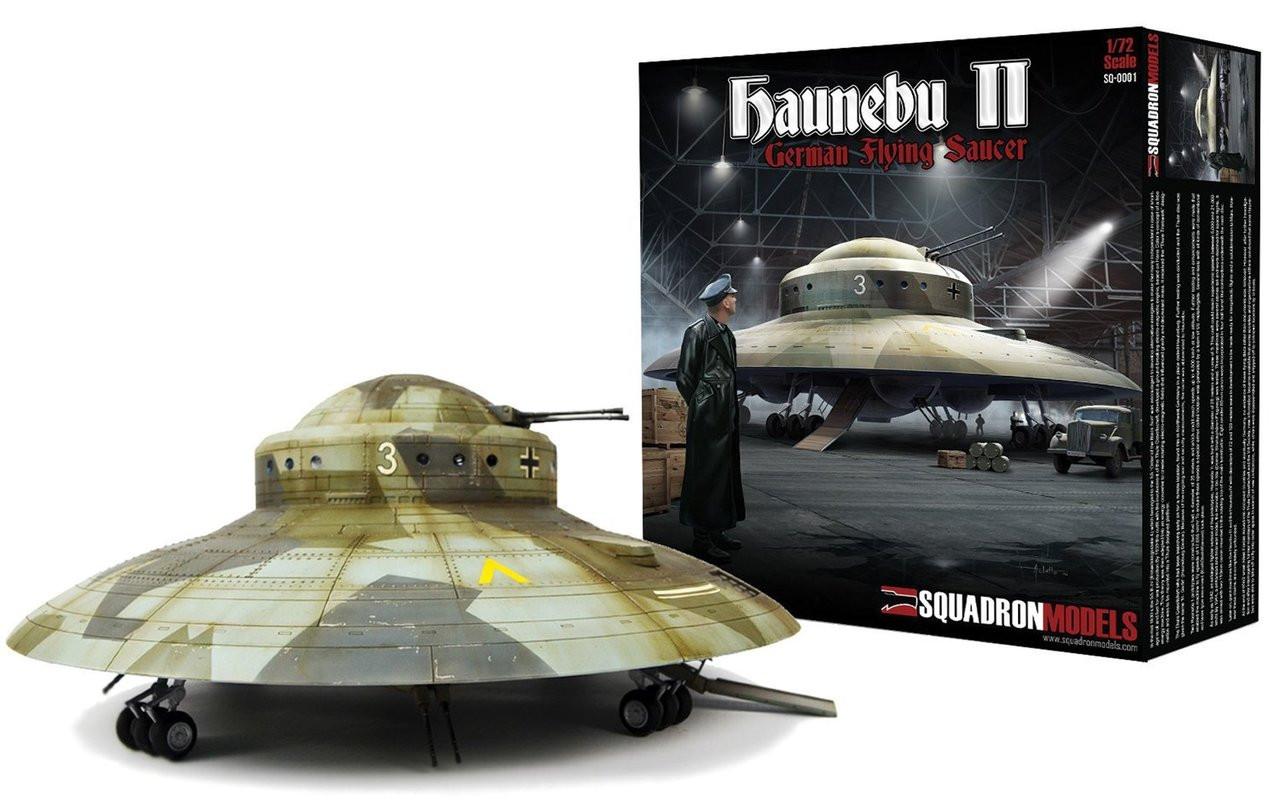 Squadron Models 172 Haunebu Ii German Flying Saucer