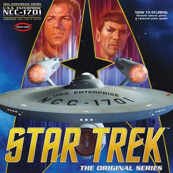 Polar lights 1/350 scale Star Trek Enterprise pll/938