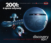 2001: A SPACE ODYSSEY - 1/144 DISCOVERY - 40 Inches Long