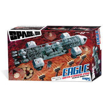 """Eagle with Cargo Pod - 22"""" kit - Space: 1999 from MPC/Round 2"""