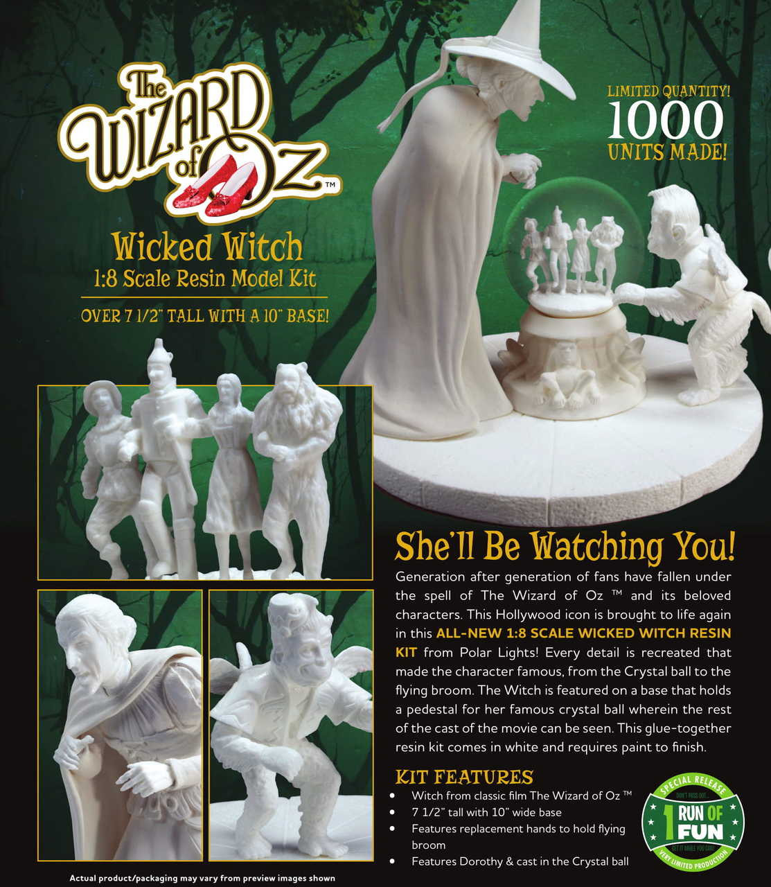Wicked Witch of the West Resin Figure Kit