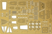 Space 1999 - 22 inch Eagle Photoetch Set 1/48 scale (PGX199)