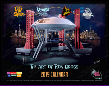 The Fantasy Worlds of Irwin Allen - 2019 Calendar