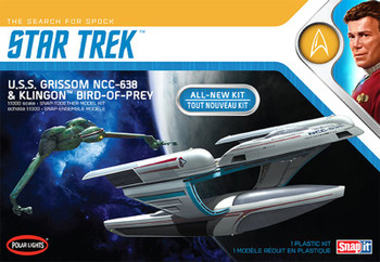 Star Trek USS Grissom & Klingon Bird of Prey (POL957)