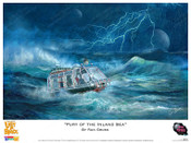 Lost in Space - Fury of the Inland Sea - Print