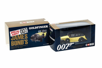 James Bond Rolls Royce Phantom III 'Goldfinger' - Corgi Die-Cast (CC06805)