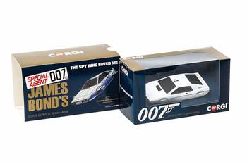 James Bond Lotus Esprit 'The Spy Who Loved Me' - Corgi Die-Cast