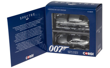 James Bond Aston Martin DB10 and DB5 - 'Spectre' twin pack 1:36 (CC08099)
