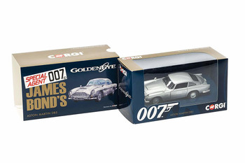 James Bond Aston Martin DB5 'GoldenEye' (CC04311)