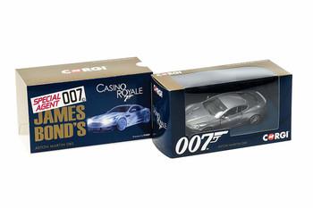 James Bond Aston Martin DBS 'Casino Royale'