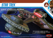 Star Trek Klingon K't'inga Lighting Kit 2T - For POL950