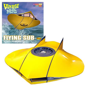 Voyage to the Bottom of the Sea Flying Sub 1:32 Model Kit (817)