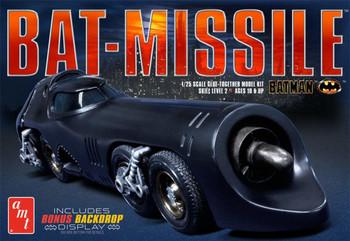 1989 Batman Bat-missle - 1/25 Scale - AMT (AMT952/12)
