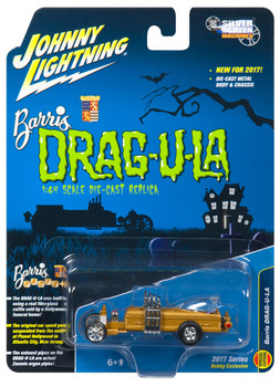 Johnny Lightning JLSS003 The Barris Dragula Hobby Exclusive 1/64 Diecast Model Car