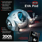 2001: A SPACE ODYSSEY - EVA Space Pod 1/8 scale
