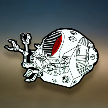 2001 A SPACE ODYSSEY - EVA Space Pod pin - SDCC exclusive