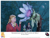 "Lost In Space - ""Rendezvous with the Plants in Peril"" Print"